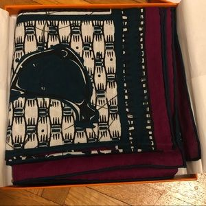Hermes scarf. Brand new, never worn.